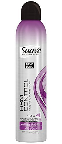 Suave Professionals Control Finish Hairspray, Extra Hold 9.40 oz (Pack of 18)