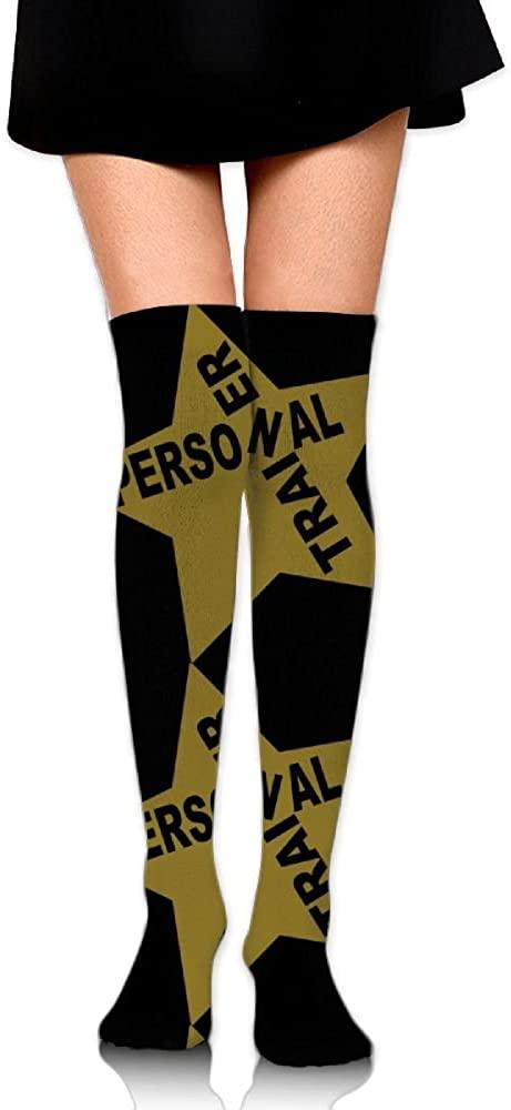 Personal Trainer Stars Stockings Long Tube Socks