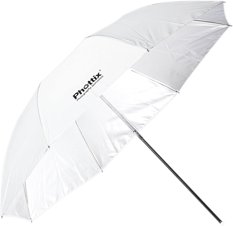 Phottix Double-Small Folding White Shoot-Through Umbrella 94cm (PH85361)
