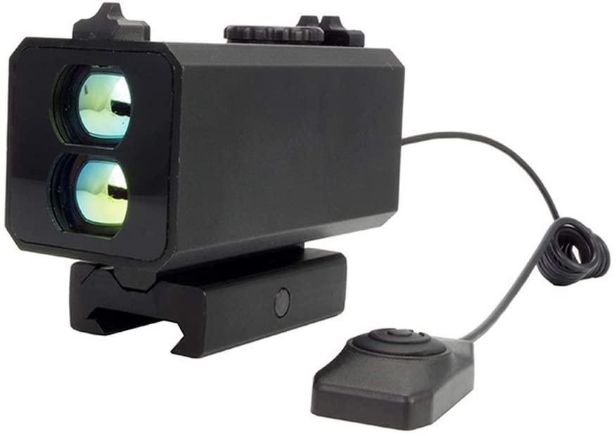 QWERTOUY Distance Meter Rangefinder 5 in 1 Laser 700M Fog Day Mode+Horizontal Distance+Speed Measurement Rangefinder Hunting