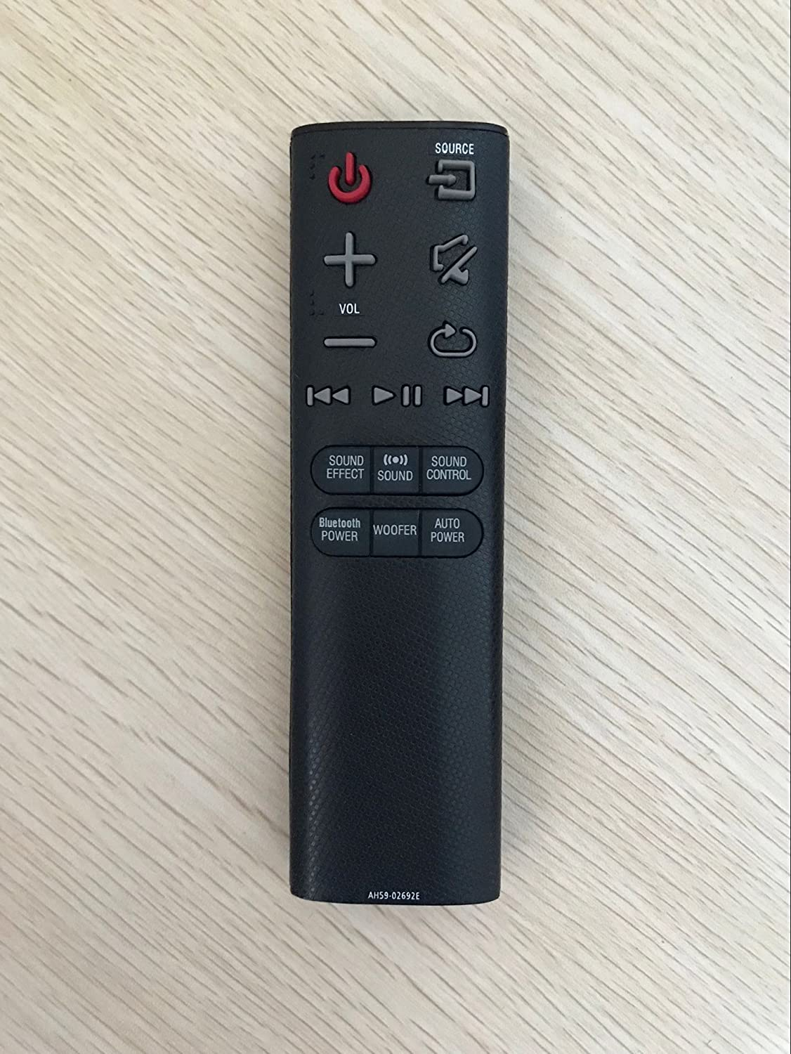 Replacement Remote Controller for Samsung HW-JM45/ZA HW-J450 HW-JM37 Audio Soundbar