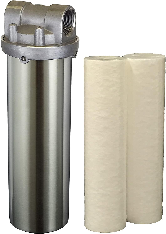 Hydro-Genics #ESS-LD-10-1 Water Filter Housing w/ (2) cartridges