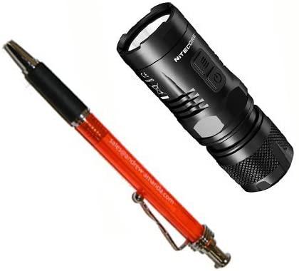 Nitecore EC11 LED Flashlight XM-L2(U2) with Free Pen, 900 lm