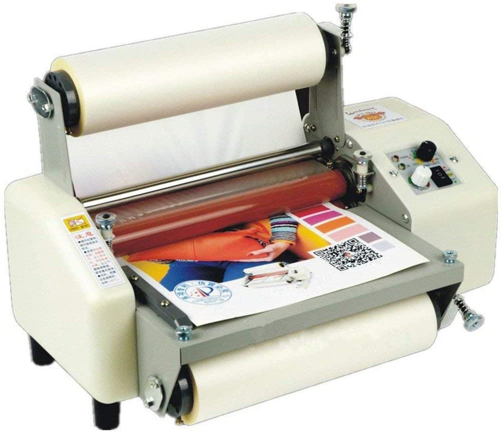 Hanchen Thermal Laminator, Four Rollers Hot and Cold A4 Paper Document Photo Laminating Machine 8.66
