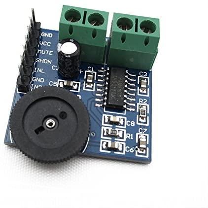 ADAM SYEX [PAM8403] dual channel amplifier module mini digital power amplifier board with volume control