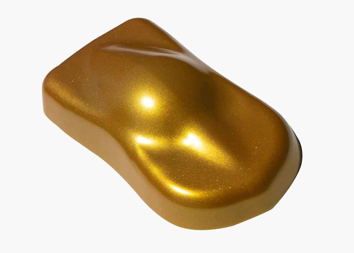 Eastwood HotCoat Powder 3D Shimmering Metallic Halcyon Gold 1Lb Bag Paint Durable Smooth Finish Impact Chemical Resist