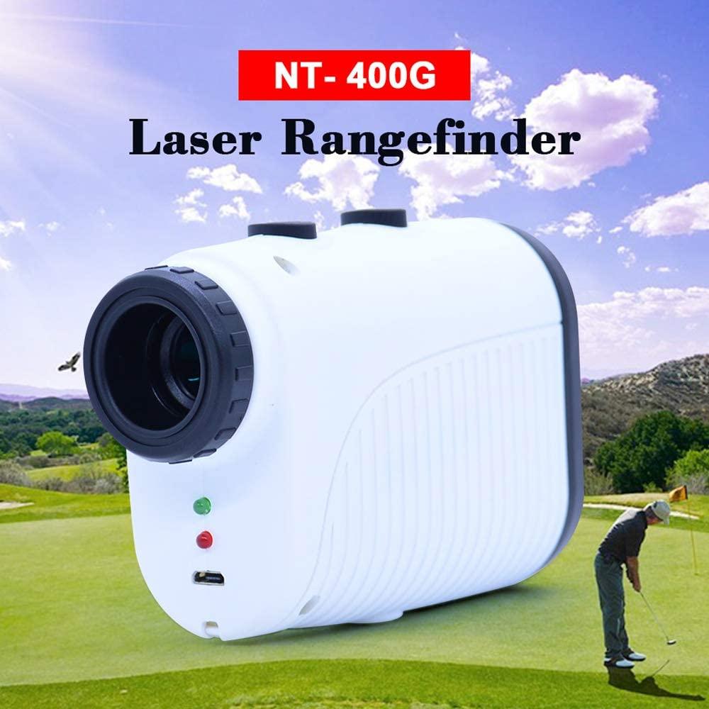 QWERTOUY Telescope Rangefinder 400m Distance Meter 7XMonocular Golf Hunting Range Finder Tape Measure Roulette