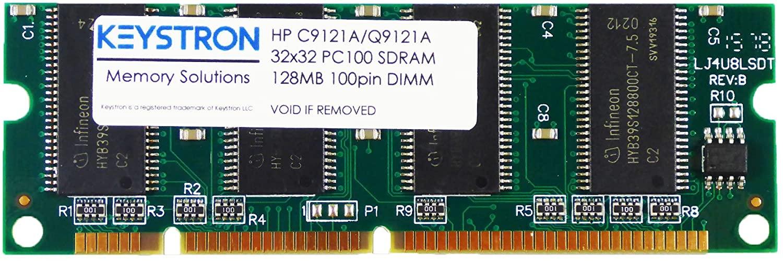 HP C9121A Q7709A 128MB 100 pin PC100 Memory DIMM for HP Color Laserjet 2605 2605dn 2605dtn 2700 2700n