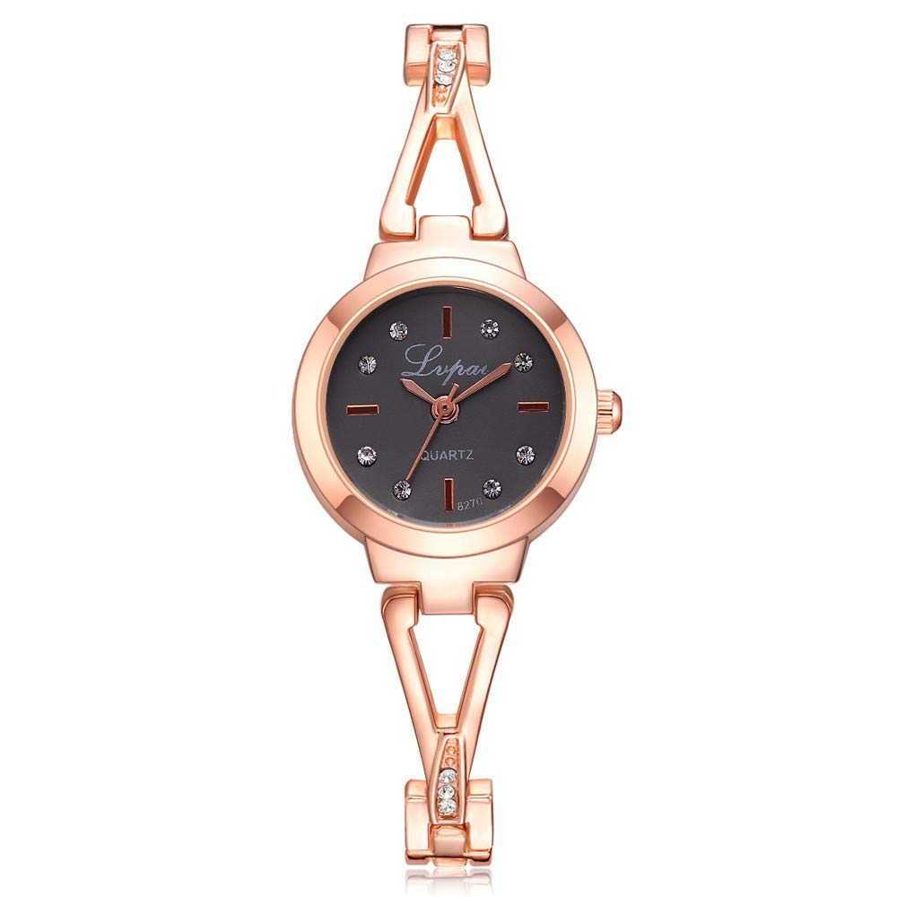 USVSU Womens Wrist Watch Crystal Diamond Quartz Watch