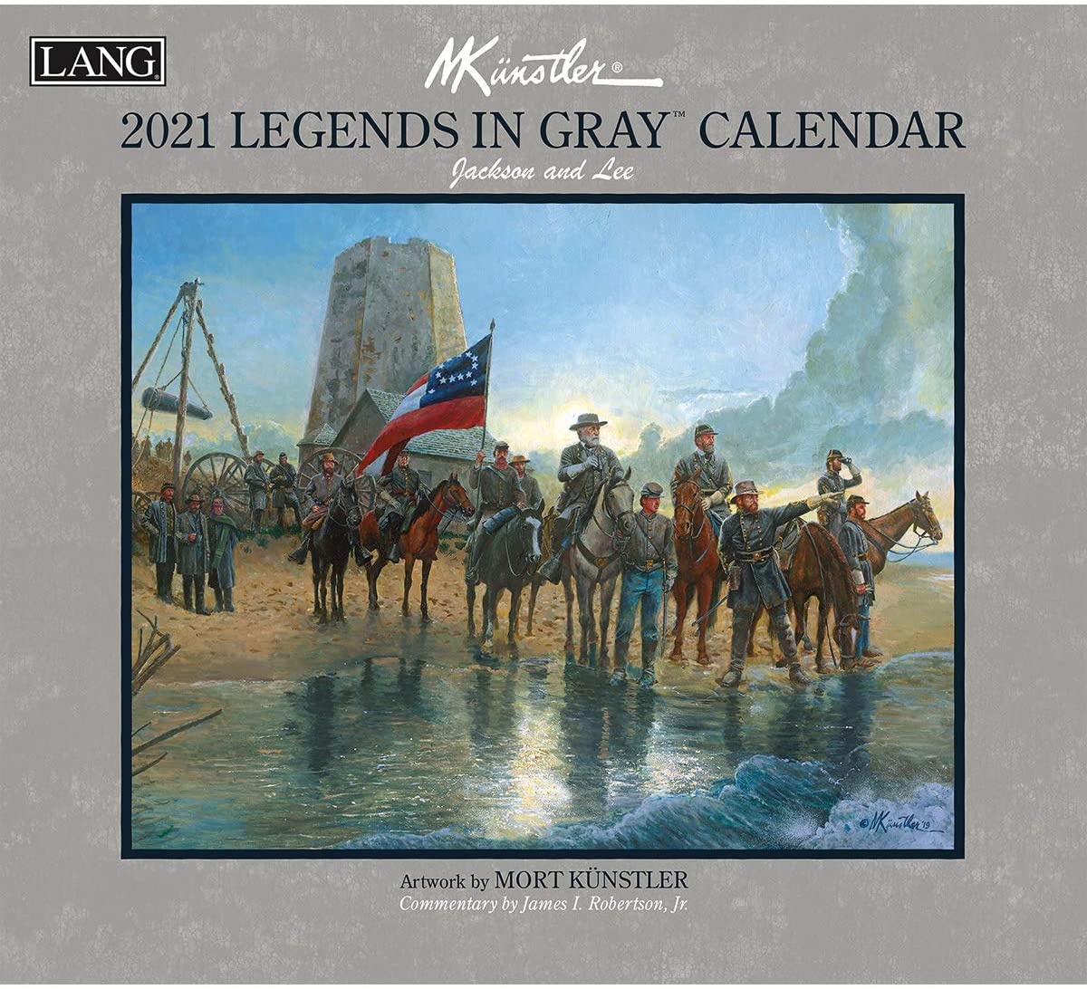 LANG Legends in Gray 2021 Wall Calendar (21991001923)