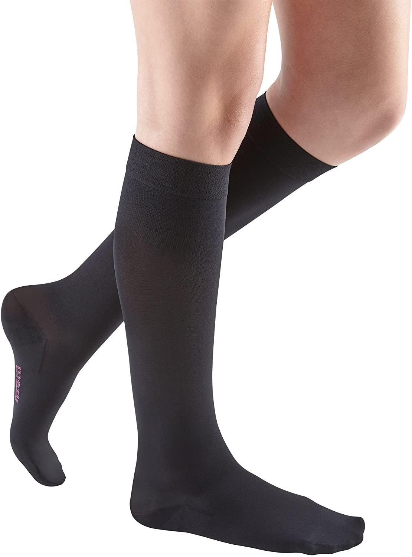 Medi for Men Knee High Classic Socks 15 20 mmHg Grey V