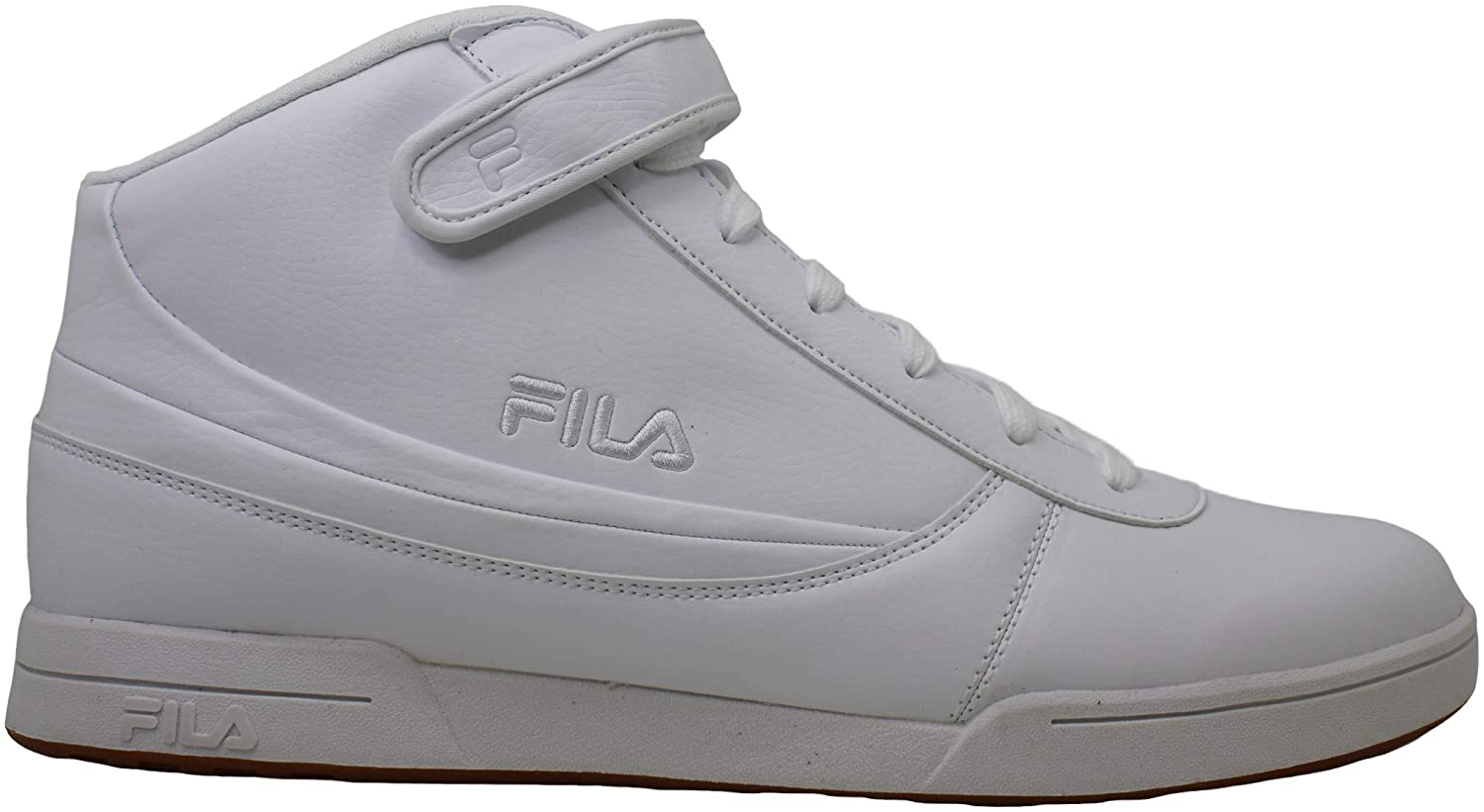 Fila Mens F89 Hight Top Lace Up Basketball Shoes