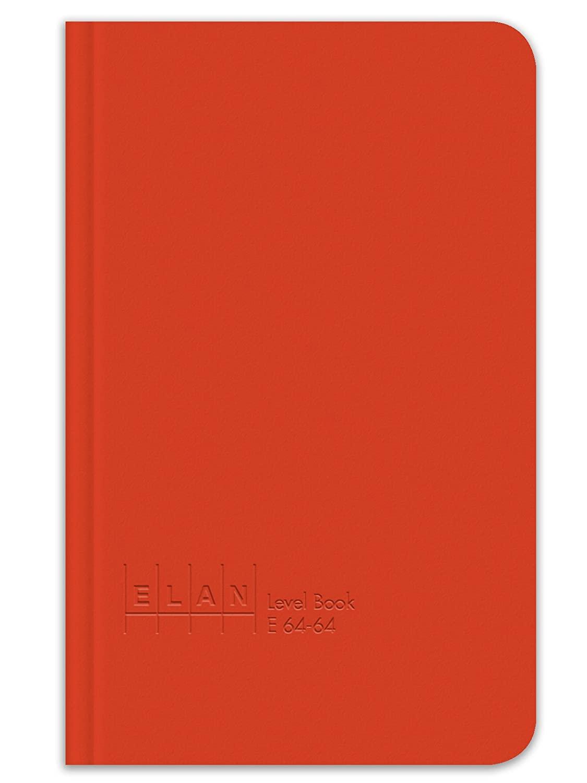 Elan Publishing Company E64-64 Level Book 4 ⅝ x 7 ¼, Bright Orange Cover