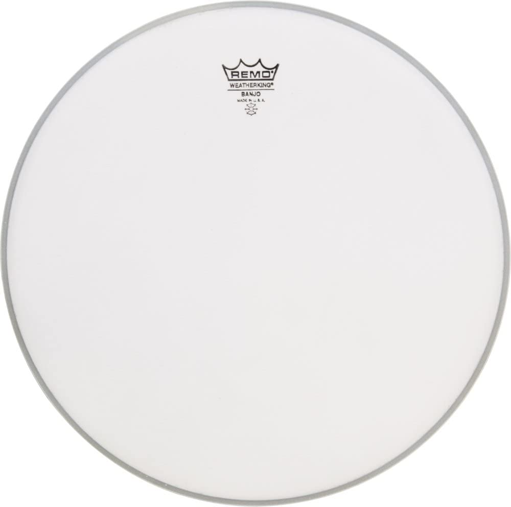 Remo Coated Topside Banjo Head 11-2/16 In Medium