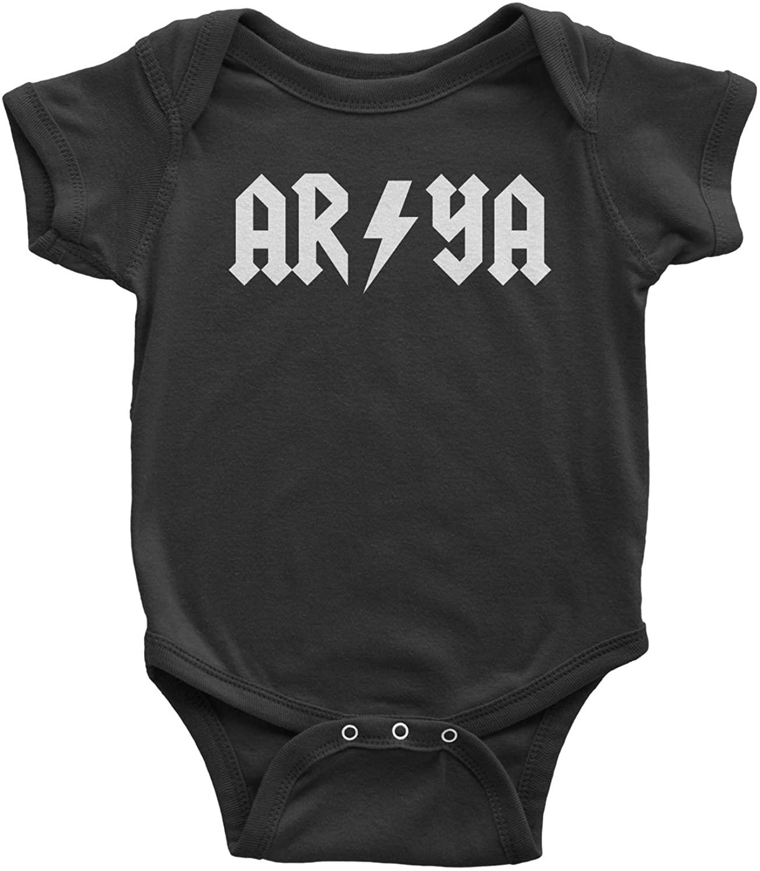 Expression Tees Arya Lightning Bolt Infant One-Piece Romper Bodysuit