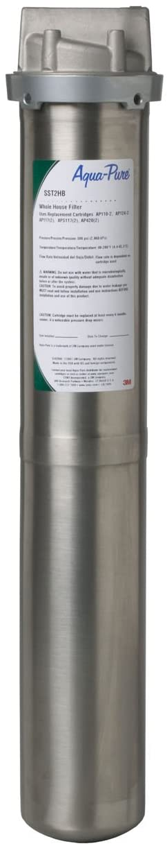 3M Aqua-Pure Whole House Water Filtration Housings - Model SST2HB (Pack of 8)