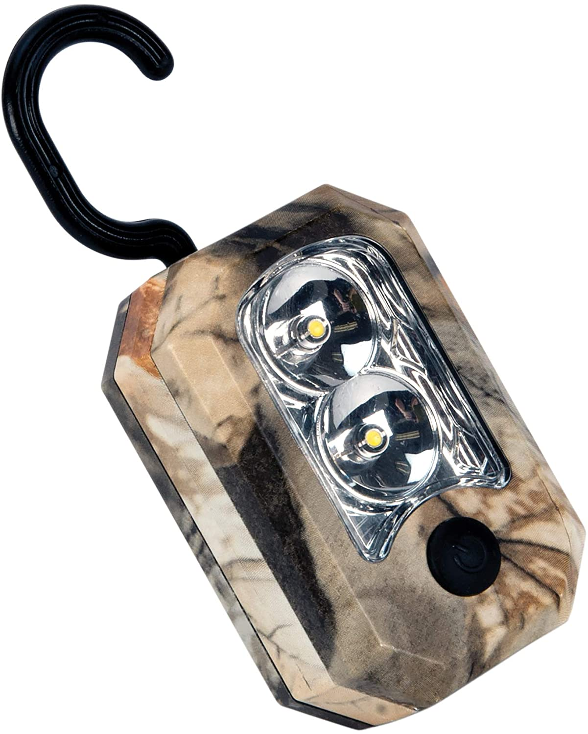 Performance Tool W2462 123 Lumen Camo Compact LED Work Light With Hook & Magnetic (Sold as 1 Flashlight)