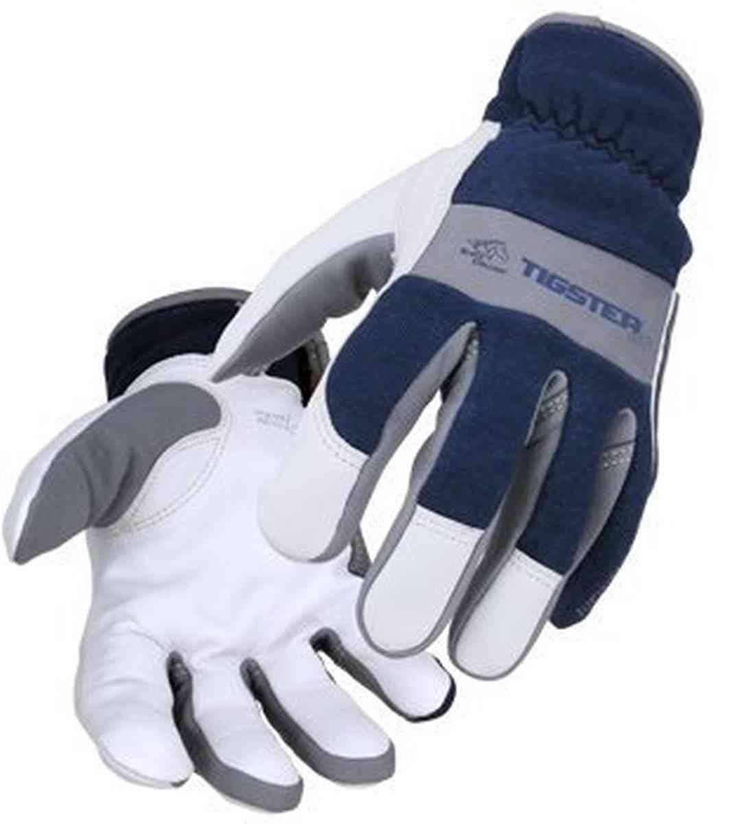 Revco Industries T50 M Tigster Tig Welding Glove, White, Medium (Pack of 12)
