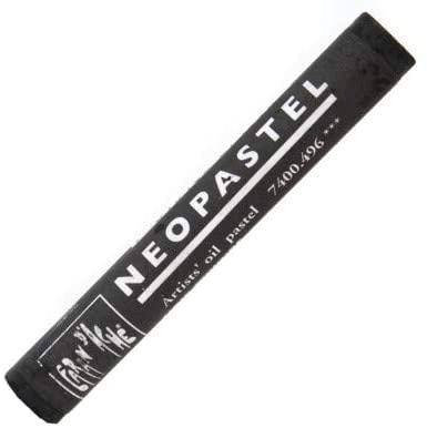Caran D'ache Neopastels Individual - Ivory Black (7400.496)
