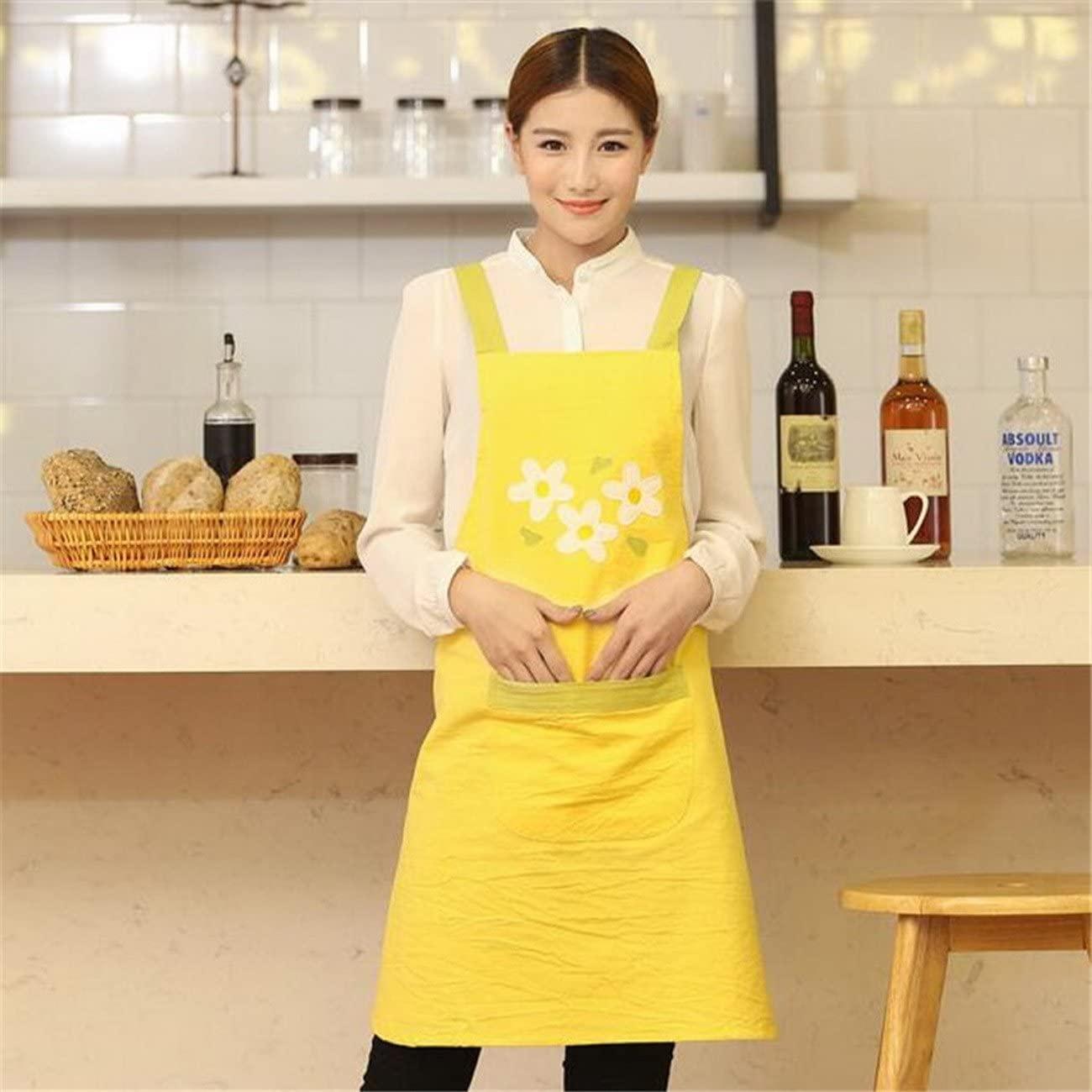 geranjie New Sleeveless Apron Kindergarten Nail Tea Coffee Shop Kitchen cooking baking Restaurants Waiter Work Aprons For Woman LOGO