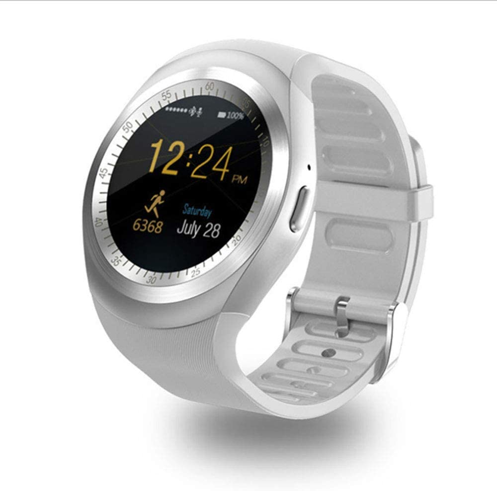 QYXM Bluetooth Smart Watch with Message Notification, 1.2