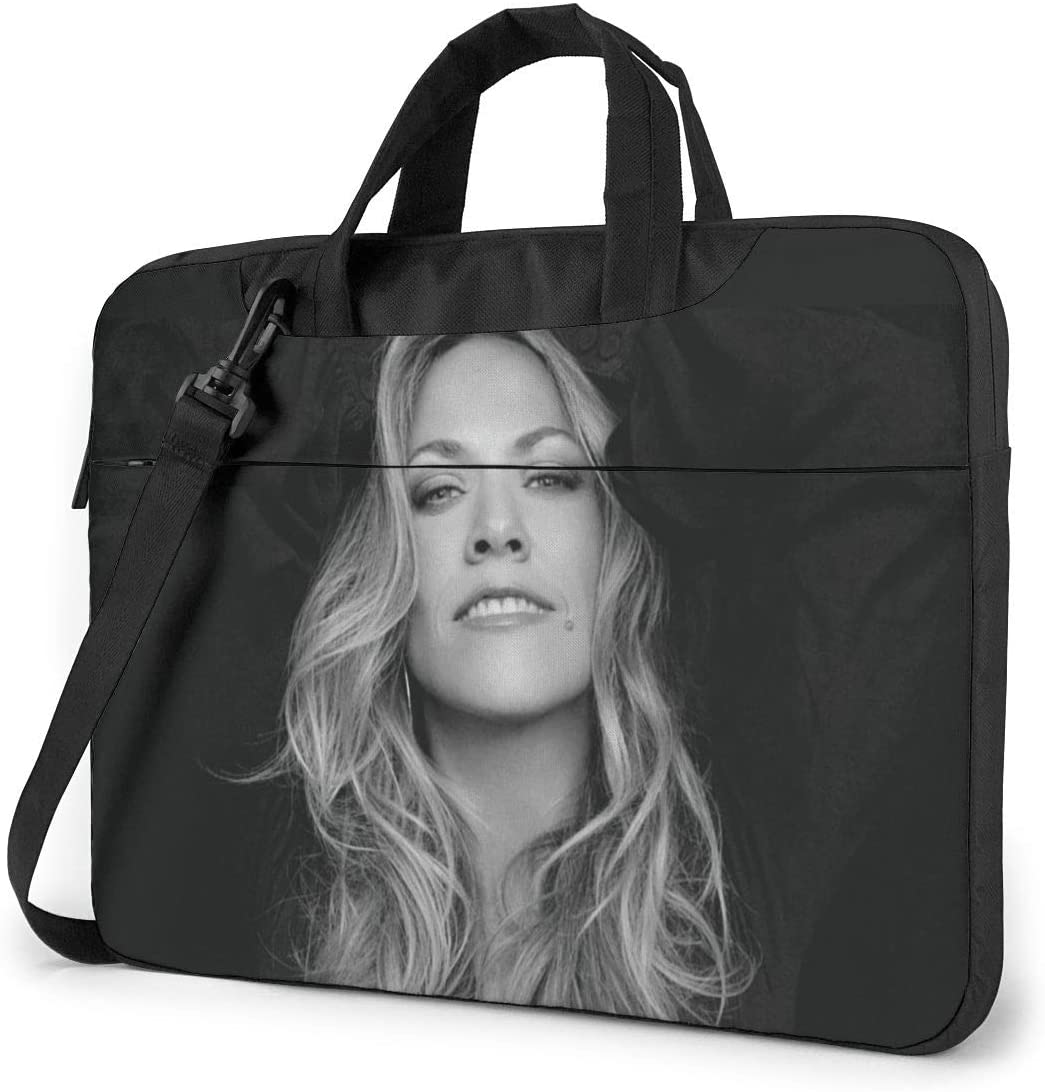 N/C Sheryl Crow Waterproof Laptop Shoulder Messenger Bag, Computer Protective Case, Briefcase, Unisex, Exquisite Style.14 Inch