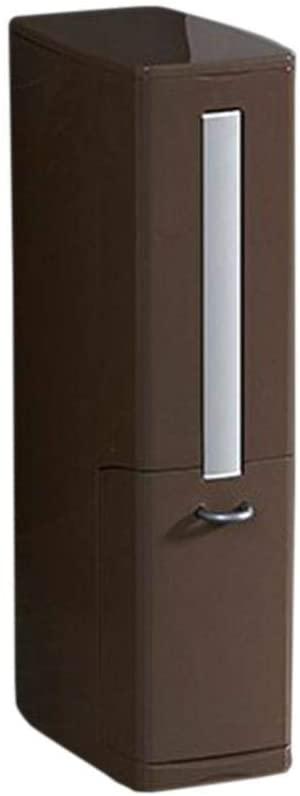 Bitcircuit Toilet Brush Trash Can Integrated Storage Holder Box Bathroom Supplies