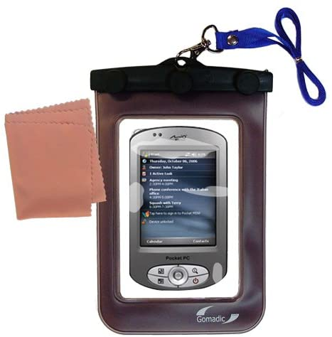 Outdoor Gomadic Waterproof Carrying case Suitable for The Mio P350 to use Underwater - Keeps Device Clean and Dry