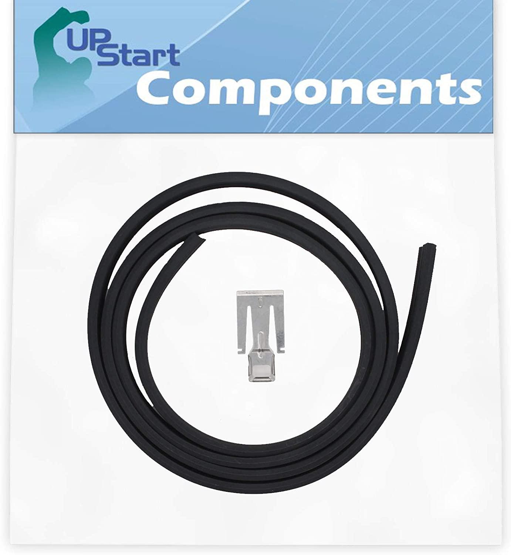 W10542314 Dishwasher Door Gasket Replacement for Whirlpool DU1145XTPQA Dishwasher - Compatible with W10542314 Door Seal - UpStart Components Brand
