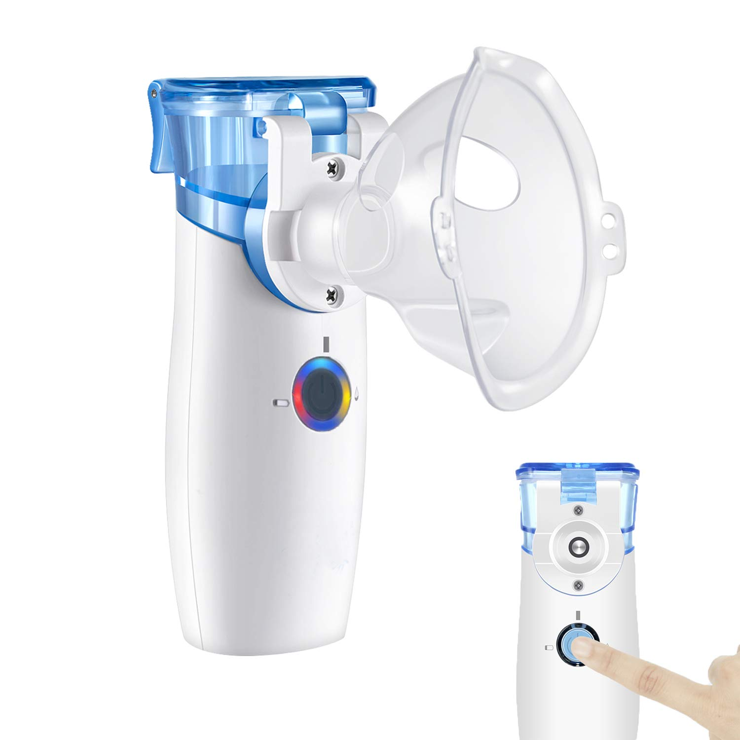 Portable Nebuliser Machine - Handheld Nebuliser Personal Inhalers for Breathing Problems for Travel,Home Daily Use