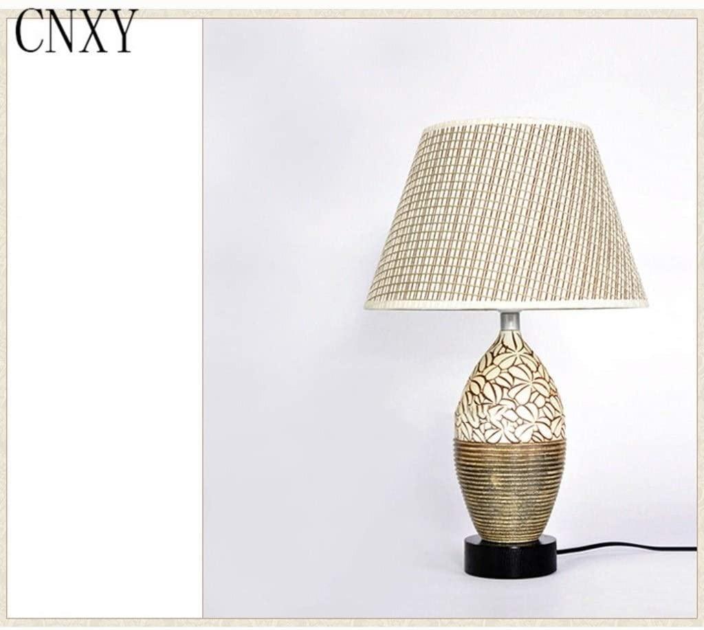 XINGDONG Table Lamp-,Bedroom Bedside Lamp American European Ceramic Lamp Bedroom Bedside Lamp Bedside Light Fixture 1230