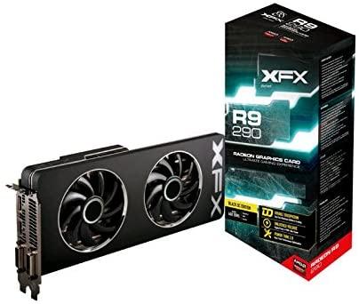 XFX Black Edition Double D Radeon R9 290 980MHz 4GB DDR5 DP HDMI 2XDVI Graphics Cards R9290AEDBD