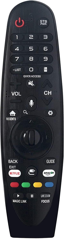 AULCMEET AN-MR650A IR Remote Control Replacement Compatible with LG TV 65SJ8000 65SJ8000UA 65SJ8000-UA 65SJ800A 65SJ800AUB 65SJ800A-UB 65SJ850AUC 65SJ850A-UC 65SJ8500 65SJ8500UB 65SJ8500-UB