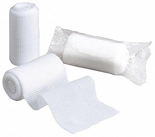Gauze Roll, Non-Sterile, White, 3 in. W