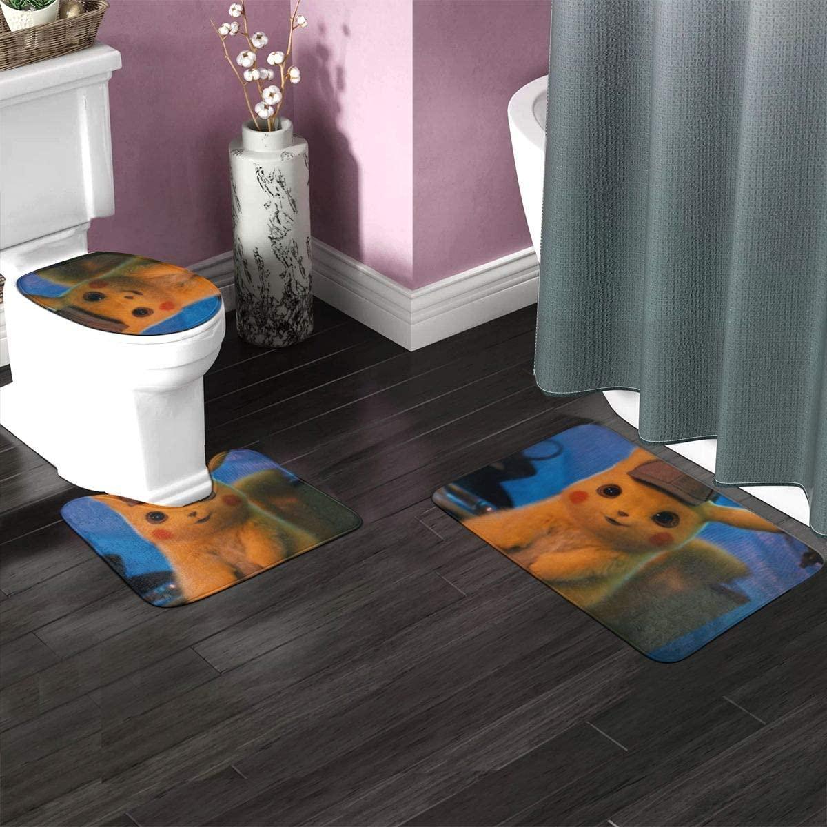 3 Pieces Bathroom Rug Set 23.6