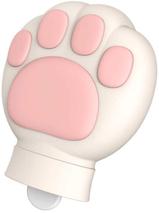 Hot Water Bottle Cute Soft Silicone Cat Claw Hot Water Bottle Microwave Heating Can Be Used As an Ice Bag, Suitable for: Relieve Pain