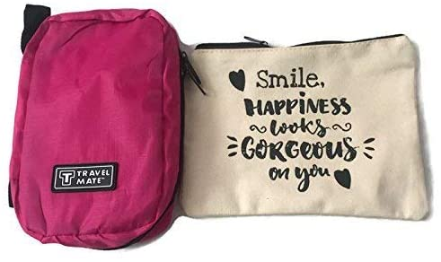 Atomiko Solutions COSMETIC BAG AND HANGING TRAVELING BAG.