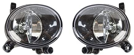 Rareelectrical NEW FOG LIGHT PAIR COMPATIBLE WITH AUDI A4 SEDAN 2009-12 8T0-941-700-B 8T0941700B 8T0941699B 8T0 941 700 B 8T0-941-699-B AU2593115 AU2592115