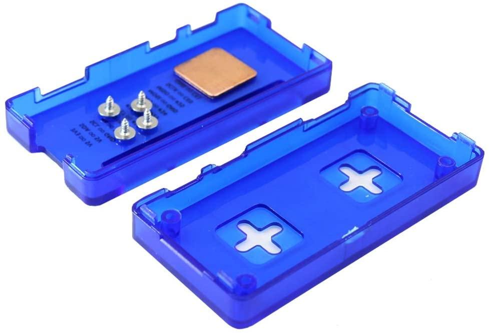 MADONG LDTR-PJ012 ABS Case Protective Box with Heat Sink for Raspberry Pi Zero W or Raspberry Pi Zero