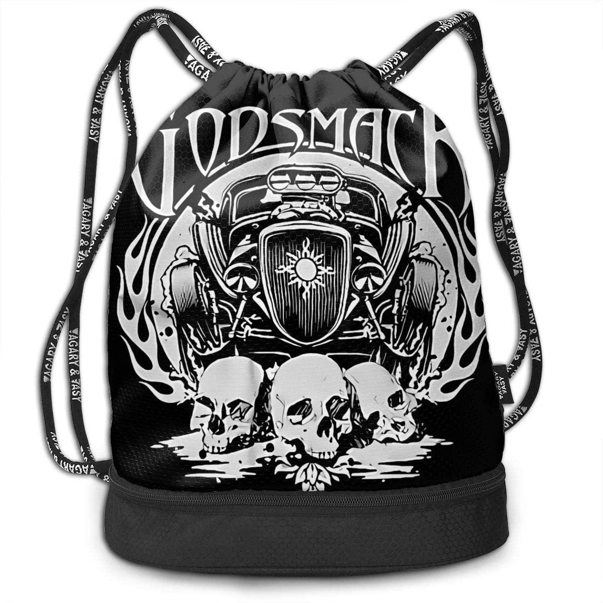 Funny Classic Godsmack. Multifunctional Travel Sports And Leisure Drawstring Backpack