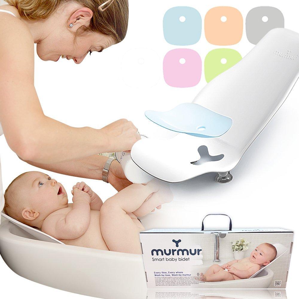 murmurbaby Bathtub, Bidet And Nursing And Weaning Seat, Newborn Baby To Toddler (Grey)