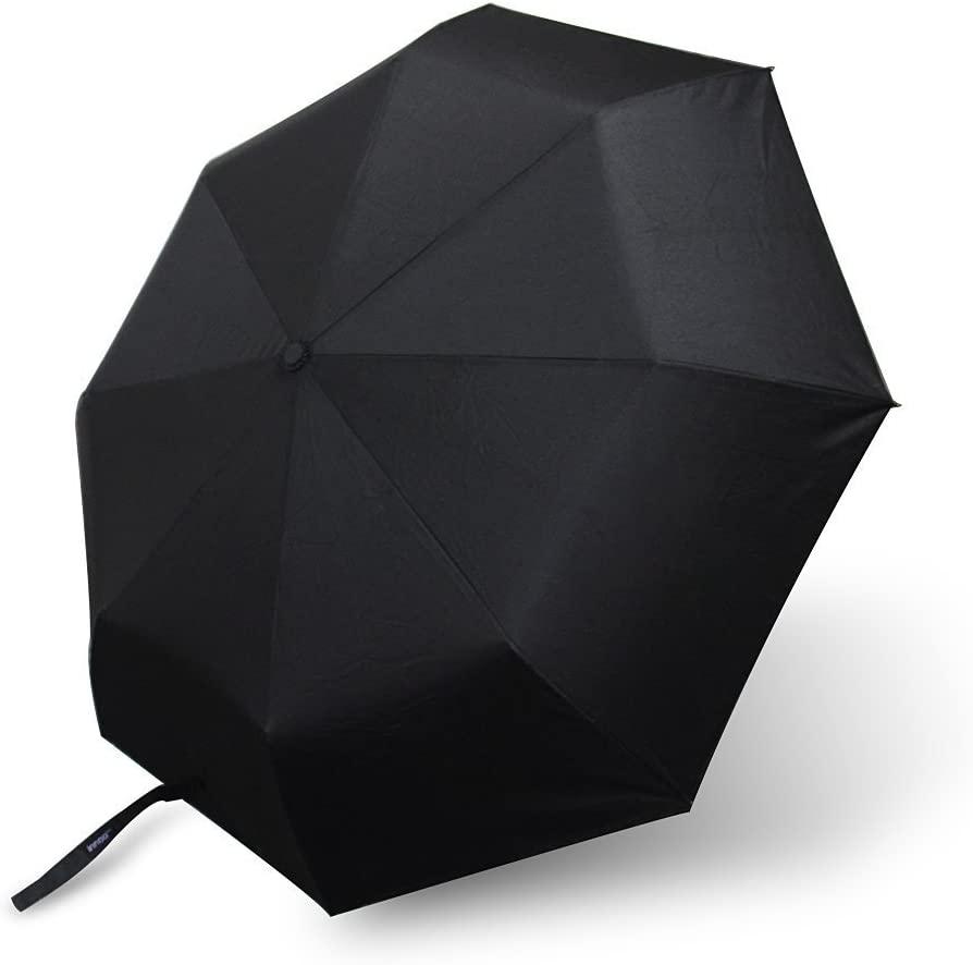 Ailife Travel Umbrella Automatic Umbrella, Stainless Steel & Fiberglass Construction