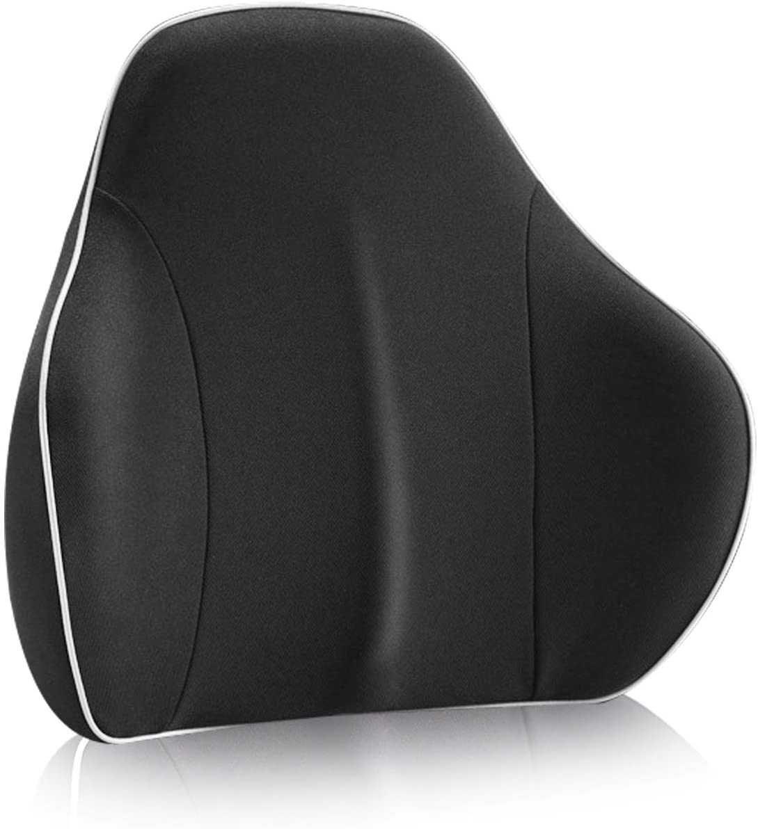 RaoRanDang Lumbar Support Pillow, Advanced Back Pillow with Innovative 3D Polymer, Breathable,Washable,Ergonomic Lumbar Support Cushion for Lower Back Pain Relief- Ideal for Car Office Chair