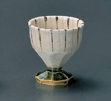 ORIBE-TOGUSA Tohki Japanese Pottery Set of 5 Sake Cups