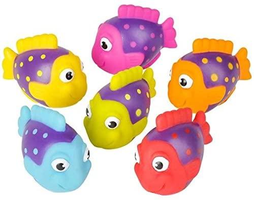 Neliblu Go Fishing! Bath Toys - 12 Pack Squirting Bath Toys 2