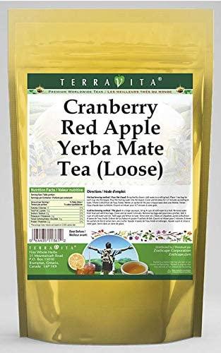 Cranberry Red Apple Yerba Mate Tea (Loose) (4 oz, ZIN: 566412) - 3 Pack