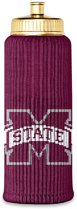 Mississippi State Bulldogs Officially Licensed Hail State Bottle Insulator by Jenkins' Enterprises Game Day Outfitters & Freaker USA