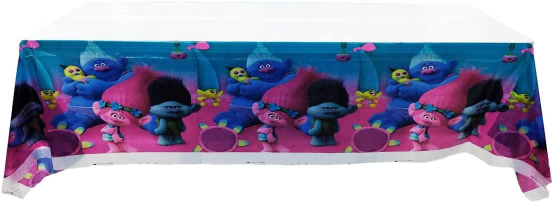 Trolls Party Tablecloth |70.8 x 42.5 Inch| Trolls Party Supplies