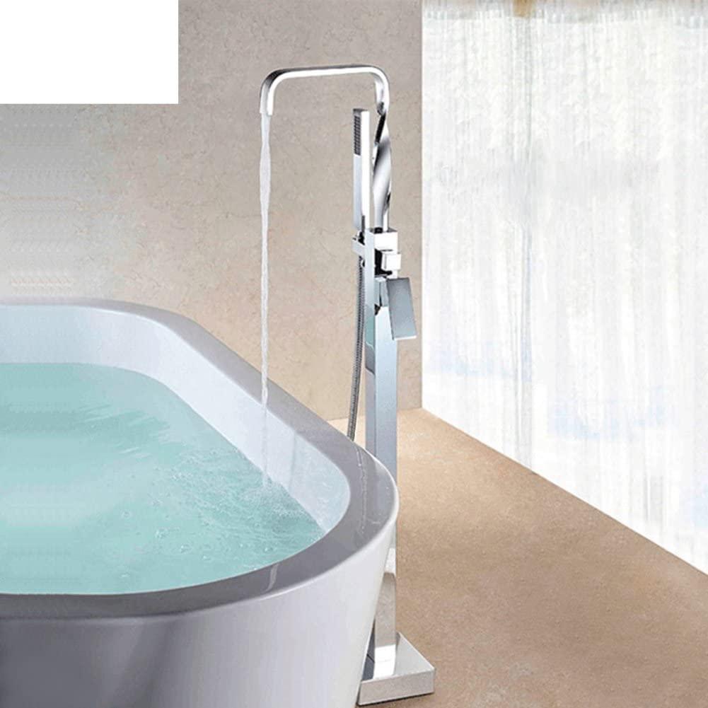 Floor-Standing Bathtub Mixer/Copper Sprinkler Tank Side Leading/Vertical Mixer Shower Mixer-A