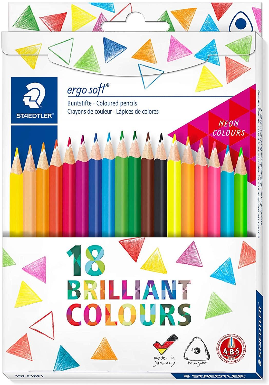 Staedtler Ergosoft 157 C18P1 Colouring Pencils